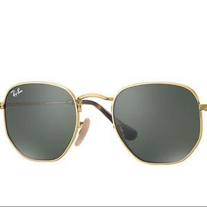 Brand New, Ray-ban hexagonal sunglasses RB3548